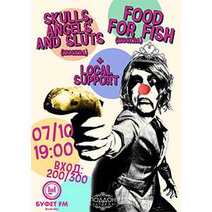 Skulls, Angels and Sluts/Food For Fish