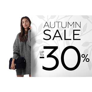 Autumn sale до 30% в Calipso