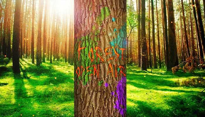 """OPEN-AIR """"FOREST FESTIVAL"""". 18+"""
