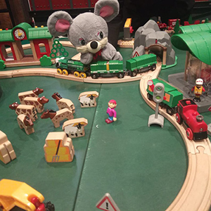 Детские онлайн-экскурсии с Мышонком в Музее железных дорог России
